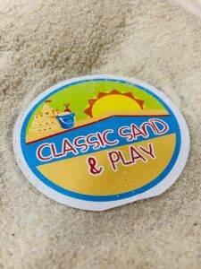 childrens play sand