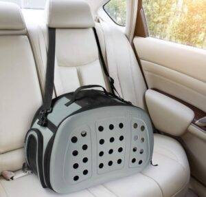 FRiEQ Foldable Hard Cover Pet Carrier