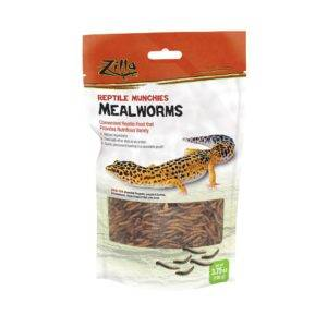 Best Worms for Bearded Dragons Zilla Mealworms