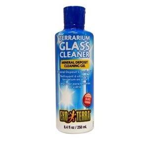 Supplies for Bearded Dragon Terrarium Glass Cleaner